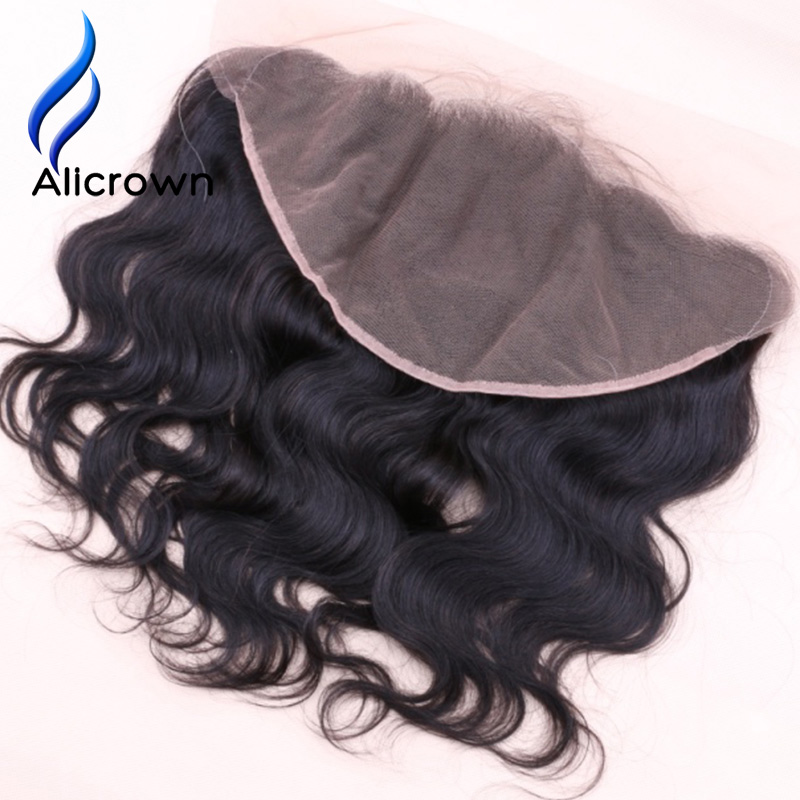 Alicrown Body Wave 13 6 Lace Frontal Closures Bleached