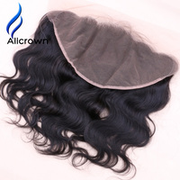 Alicrown Hair Body Wave 13 6 Lace Frontal Closure Bleach Knots Brazilian Remy Hair With Baby