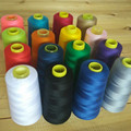 3000 ярдов Длина полиэстер нить белый/черный/синий/серый швейные нитки для рубашки/платье 40s/2 Толщина