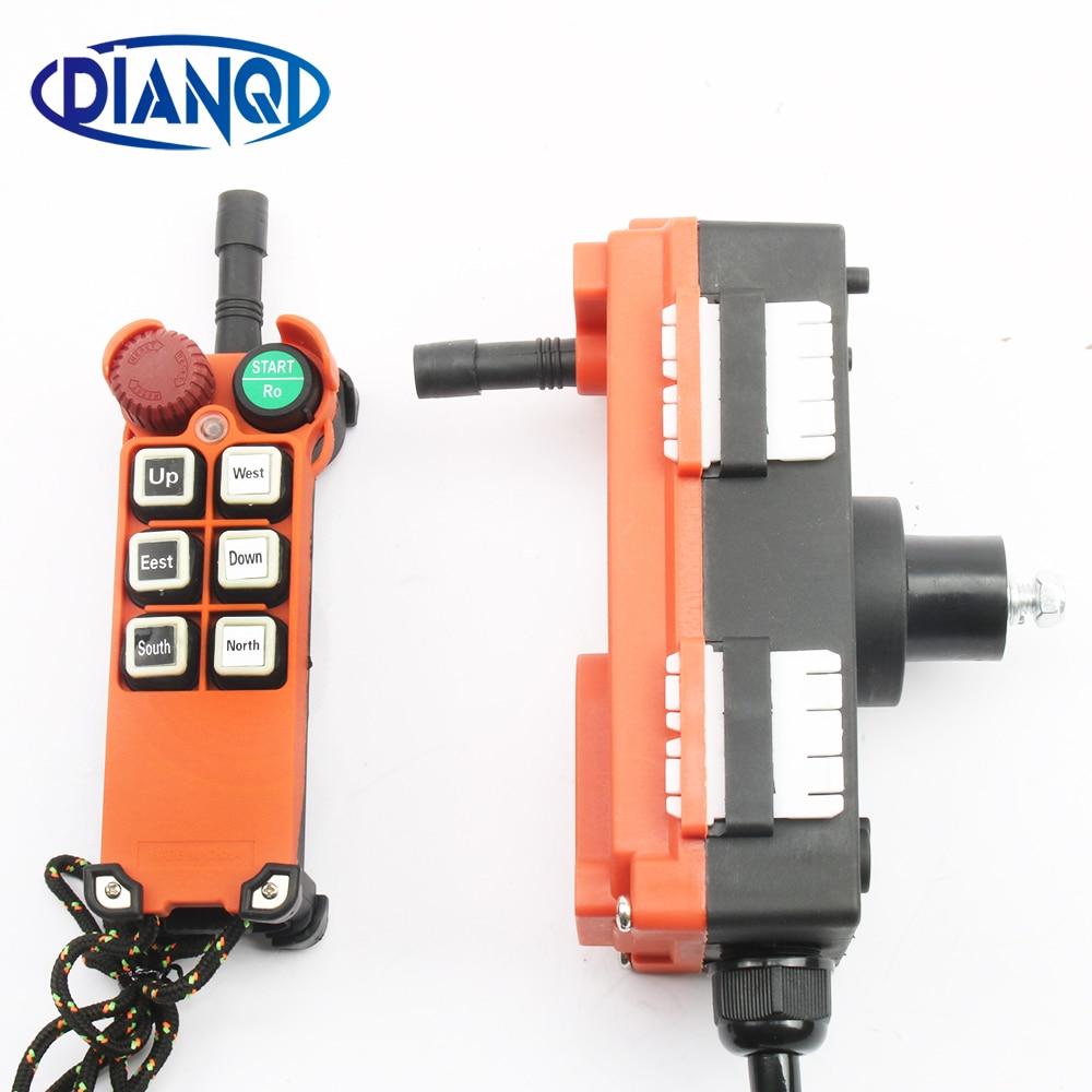 380V 12V 24V 220V télécommande industrielle commutateurs grue grue contrôle ascenseur grue 1 émetteur + 1 récepteur F21-E1