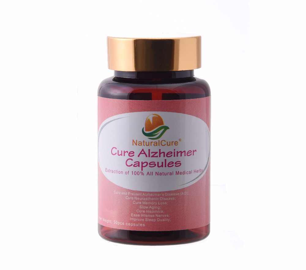 NaturalCure Cure Alzheimer Capsules, Secret Formula Since Ancient Times, Plants Extract Pills for elderly no side effect.