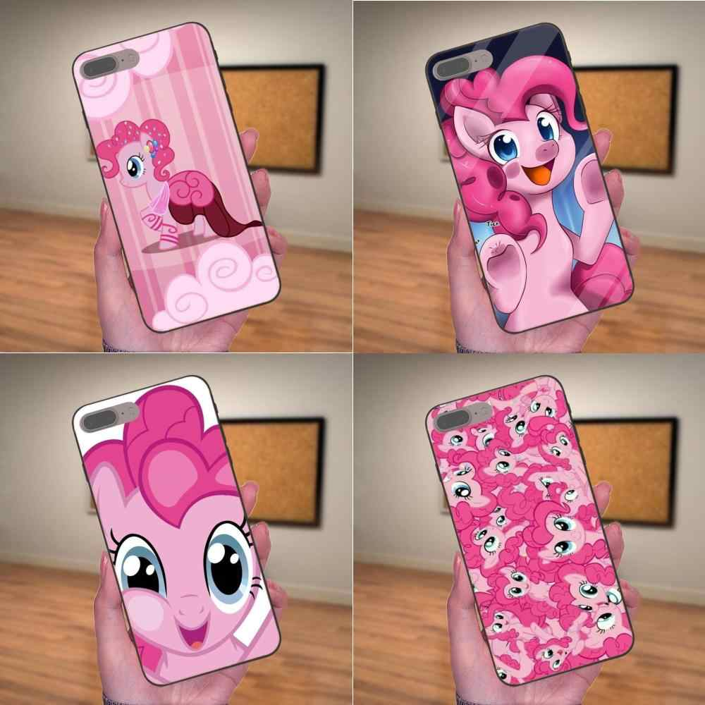 ТПУ сотовый телефон для samsung Galaxy I9080 Примечание 4, 8 9 S3 S4 S5 S6 S7 S8 S9 S10 Edge Plus Lite G313 My Little Pony Пинки пай