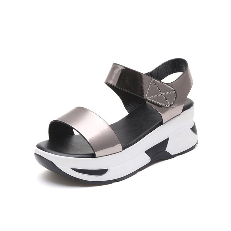 Wedges Sandals Platform-Shoes Comfortable Female Fashion Woman Student Casual Wild Tide