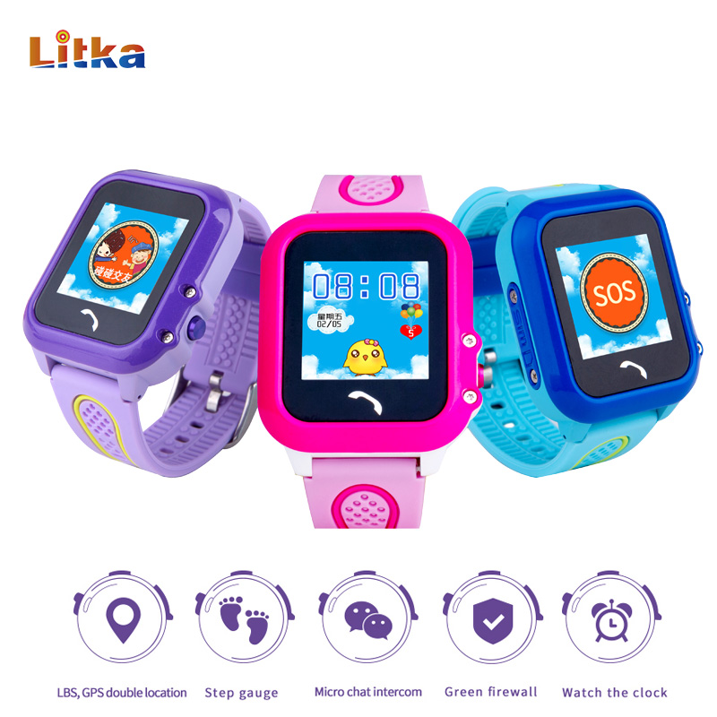 DF27 Waterproof Children GPS Swim Phone Smart Watch Baby Watch SOS Call Location Device Tracker Kids Safe Anti-Lost Monitor smart baby watch q60 детские часы с gps розовые