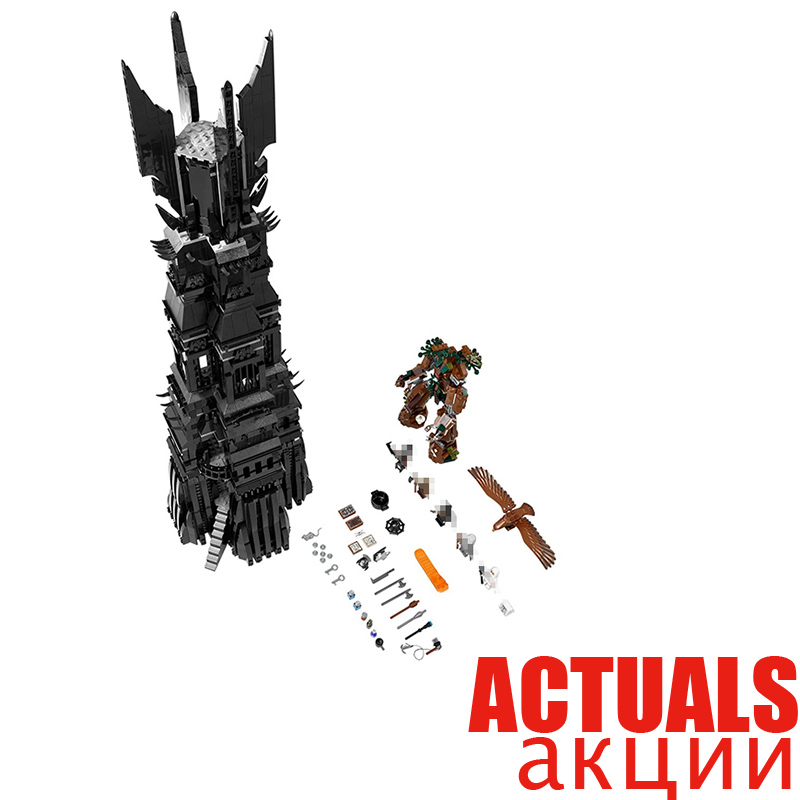 купить LEPIN 16010 The Lord of the Rings Two Tower of Orthanc GANDALF THE GREY Hobbits 2430Pcs Building Blocks Bricks Compatible 10237 по цене 6085.1 рублей