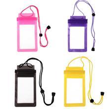 Сильный 3 Слои запечатывания сумки для плавания Водонепроницаемый смарт-чехол для телефона Сумки для дайвинга для iPhone Карманный чехол для samsung Xiaomi htc