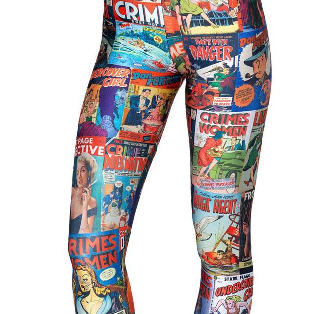 Cartoon Printed Leggings