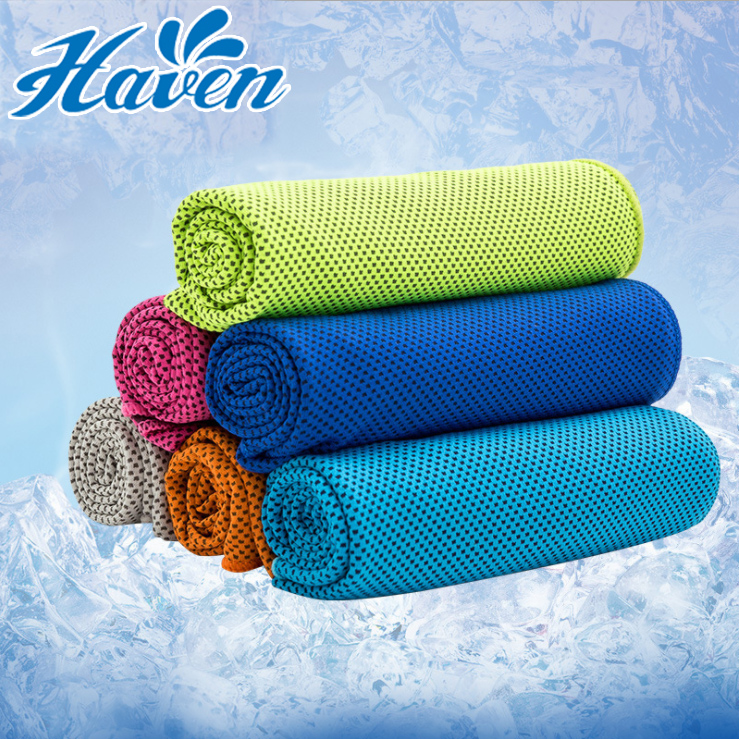 30*80cm Reuseable Cooling Towel Chilling Pad Evaporative Enduring Ice Towel