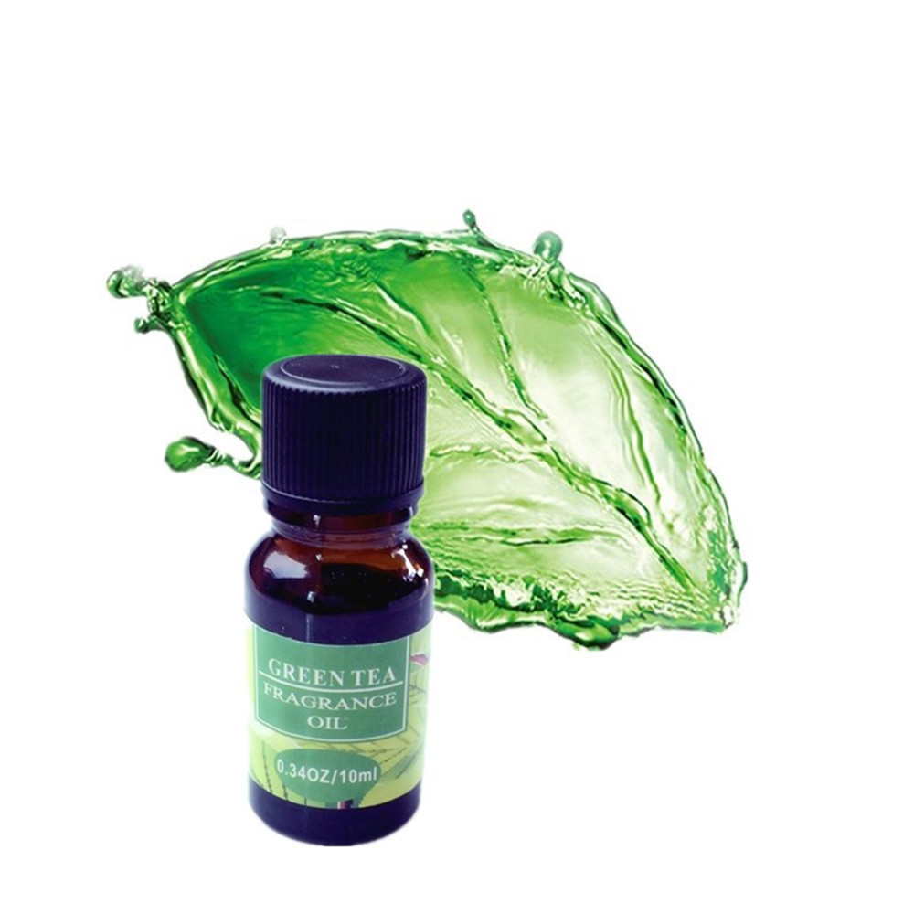 100% Pure Green Tea Essential Oil 10ml for Remove Acne and Fade Acne Marks, Help Sleep, Face Care Oil From Nature Green Tea Oil