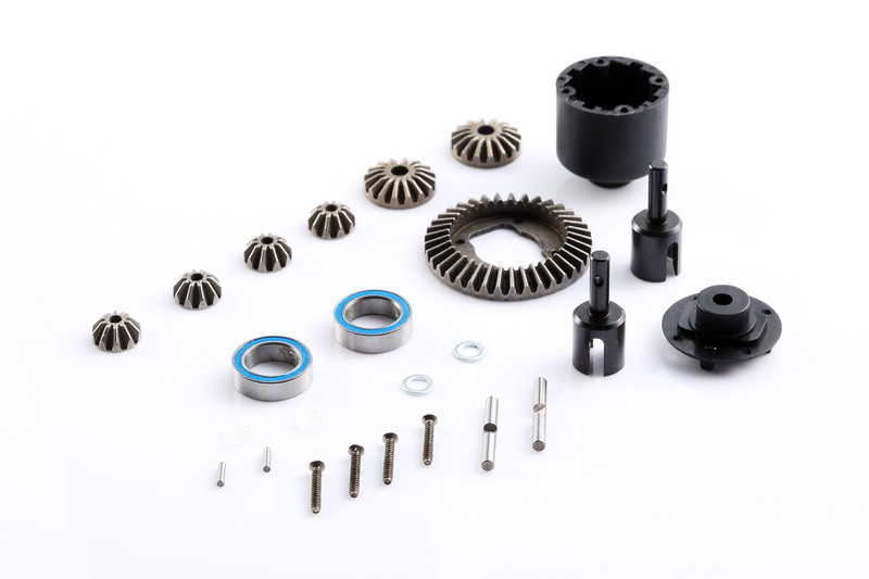 LC RACING Differential Set 4 Gear EMB-1 EMB-SC EMB-WRC EMB-MT EMB-DT Car #L6140 lc racing anti roll bar emb 1 emb sc emb wrc emb mt emb dt ep 1 14 rc car l6134