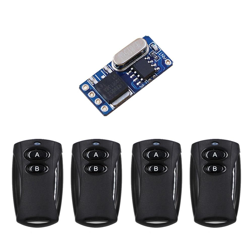 315MHZ Mini Remote Switch 3v 3.5v  4.5v 5v 6v 7.4v 9v 12v Small Size Mini Led Light Battery Wireless Lighting Free Shipping купить шины 315 80 22 5