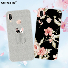 ASTUBIA Phone Case For Huawei P20  P20 Lite Case Silicon Flower Back Cover For Huawei P20 Pro P20 Case
