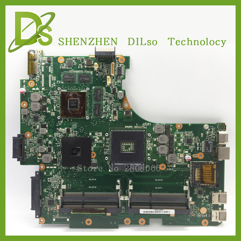 KEFU N53SV For ASUS N53SV laptop motherboard rev2.2 n53sv n53s motherboard GT540M Test