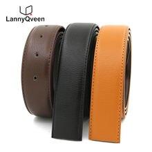 LannyQveen ceinture sangle avec trous hommes plaque boucle ceintures sans  boucle en cuir ceinture livraison gratuite e38b428c7b1