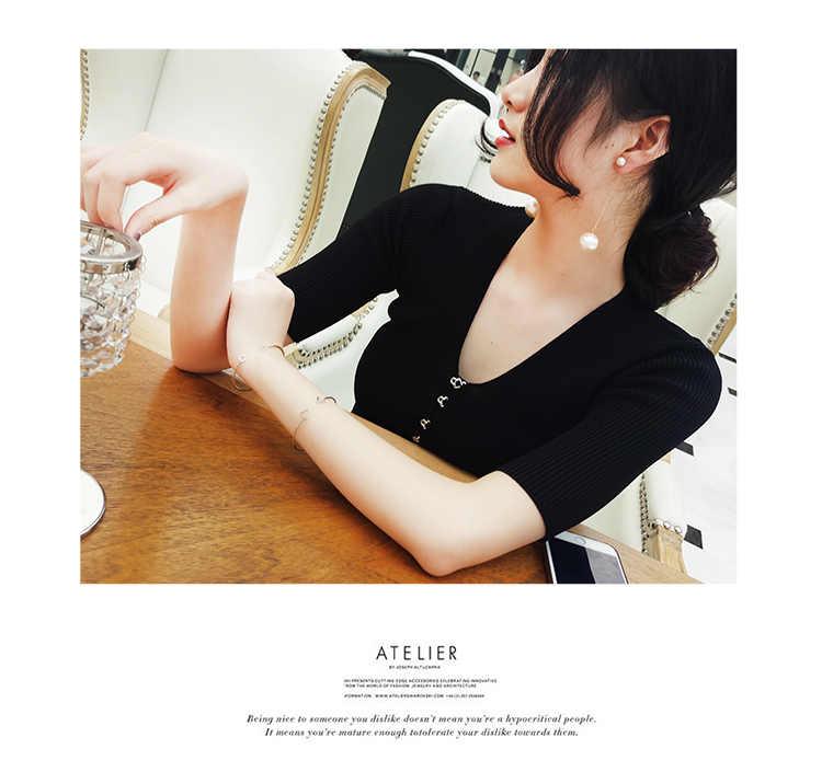 2019 caliente moda Simple hueco Metal triángulo cuadrado abierto Ajustable grande/Pequeño encanto pulseras brazaletes para joyería de mujer