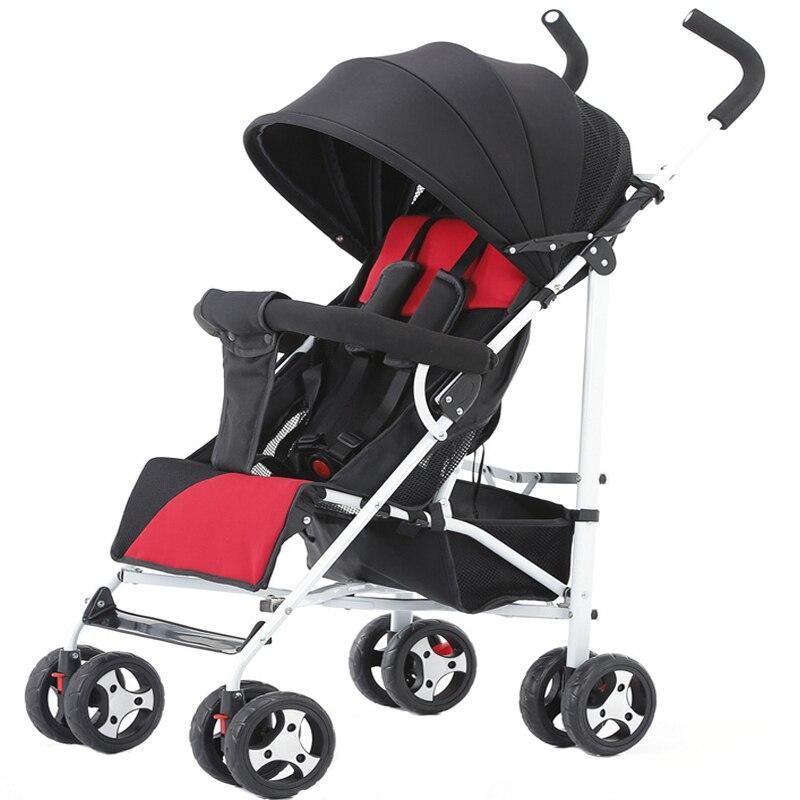 Lightweight Prams For Newborn bebek arabasi Easily Portable Baby Stroller Folding Baby Carriage poussette Child Cart carrinho