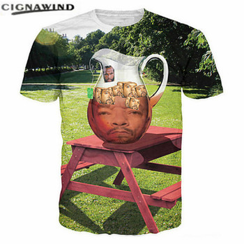 New Design T shirt men 3D Printed funny T-shirts Man Character Tea Pot Graphic Tees Homme Short Sleeve summer tops streetwear