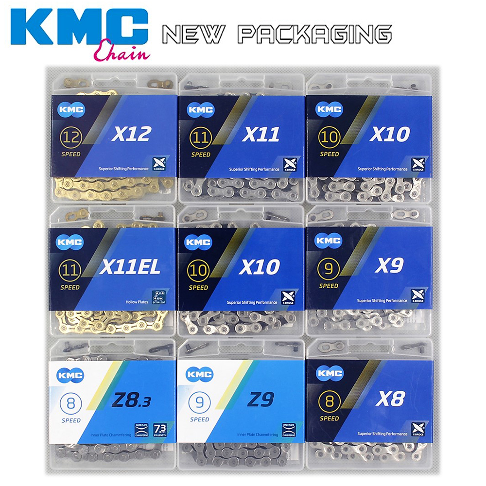 NEW KMC Bike Chain X8 X9 X10 X11 X12 Bicycle Chain <font><b>11Speed</b></font> Road MTB Crankset Shimano/<font><b>SRAM</b></font> 8 9 10 11 12s Derailleur 116L image