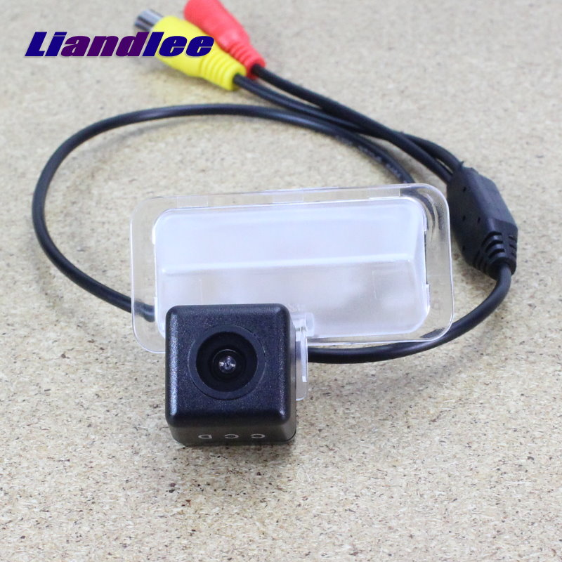 Liandlee Rear View Parking Camera FOR Toyota Verso Sportsvan EZ E'Z 2009~2014 HD CCD Reversing Back up Camera Night Vision image