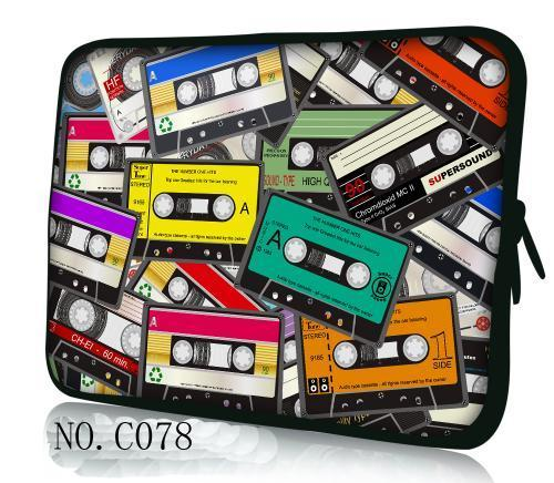 Tapes Laptop Bag 7 10 12 13 15 17inch Notebook Sleeve 15.4 13.3 12 13 11.6 17.3 7.9 10.1 Netbook Comptuer Carry Bag Cover Bags