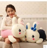 1 pc Haute qualité 26 cm mignon lapin poupées En Peluche jouets en peluche lapin de pâques lovelly, cadeau de mariage enfants d'anniversaire gif