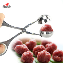 Multifunction Useful Meatball Maker Stainless Steel Stuffed Meatball Maker Machine DIY Fish Meat Ball Maker Meatball Mold Tools 220v electric fish ball maker commercial octopus ball machine veneer fish ball furnace octopus burning machine ed 81