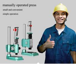 Руководство пресс-машина низкая цена небольшой ручной пресс машины