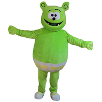 2018 New Gummy Bear Mascot Costumes Cosplay Real Photo Free Shipping Long Hair Langteng (tm)