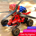 3-in-1 Multi-function Dropping Rechargeable Electric Remote Control Missile Boys and Children Toys