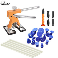 WHDZ DIY Car Body Dent Repair Hand Tools Set high quality dent lift glue tabs Paintless Removal kit