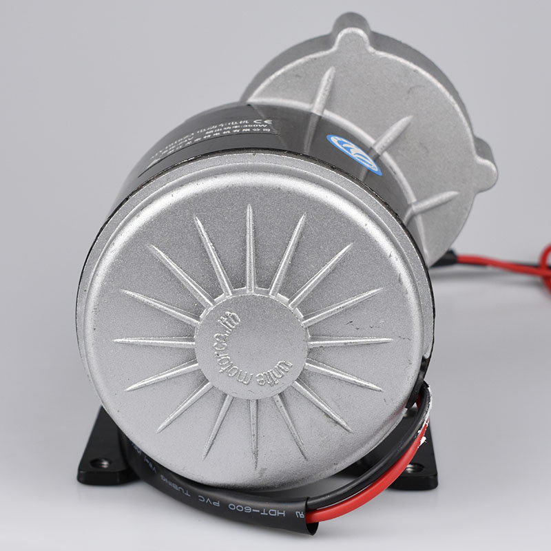 LINGYING 250 W rower elektryczny silnik szczotki 12VDC motoreduktor MTB rower szosowy silnika konwersji roweru Ebike motorower trójkołowy PartsLM