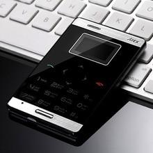 AIEK M3 GSM мини мобильный телефон 2 г/м² дочерним телефоном ультратонкие сенсорная клавиатура GPRS одной сим-ультра тонкие детские сотовый телефон