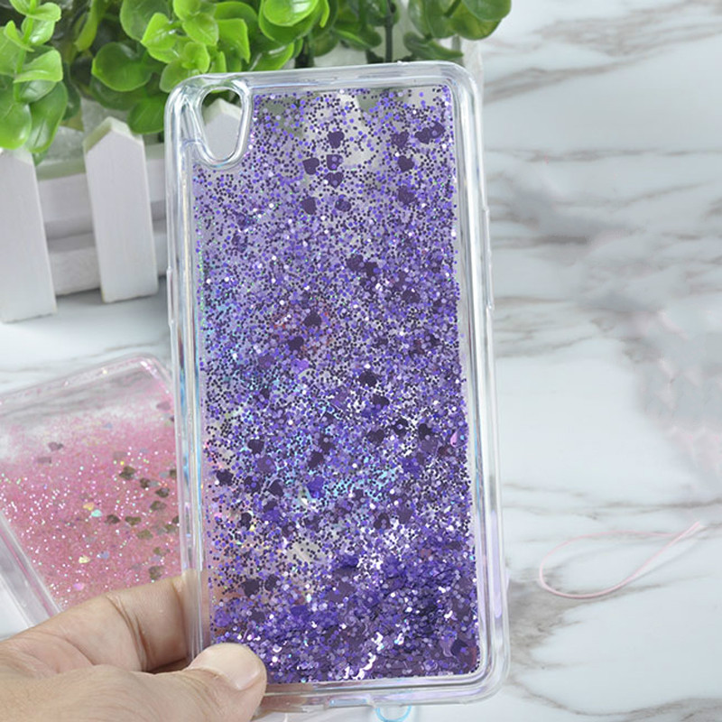 Phone Bags & Cases Cellphones & Telecommunications Glitter Shine Bling Heart Quicksand Water Soft Tpu Mobile Phone Back Case Cover For Vivo Y51 Y51l Liquid Case Coque Fundas Capa