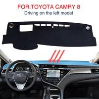 Smabee For Toyota Camry 8 2018 Carpet Cover Insulation Mat Dash Mat Dashmat Sunscreen Insulation