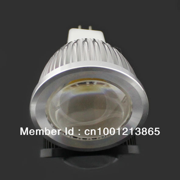 free shipping Dimmable MR16 12 volt cob led lamps led