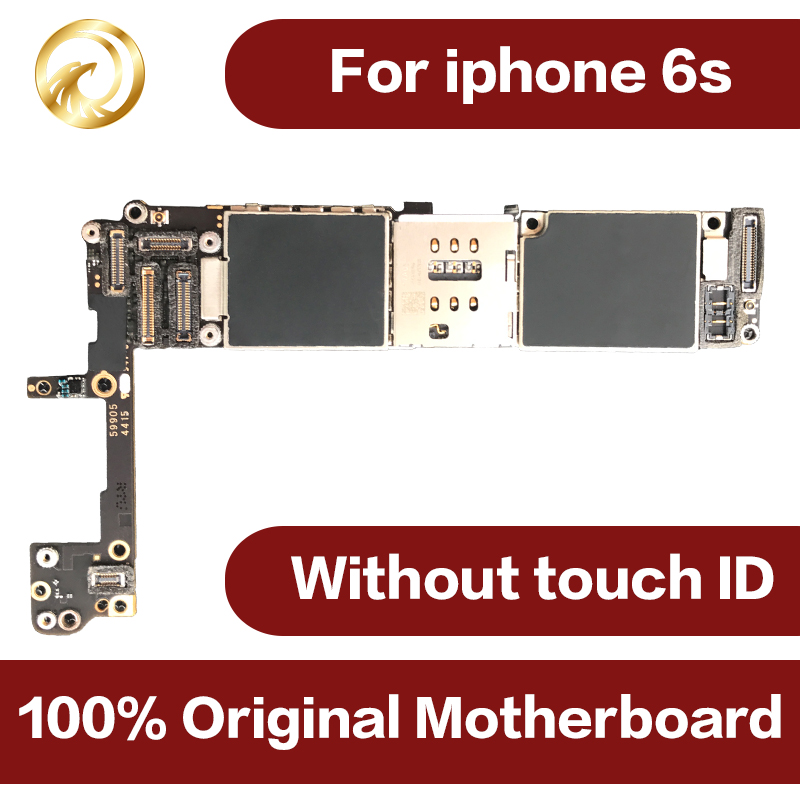 100% Original motherboard for <font><b>iphone</b></font> <font><b>6S</b></font> <font><b>16GB</b></font> unlocked worldwide Mainboard for iphone6s IOS system NO touch ID Mobile phone image