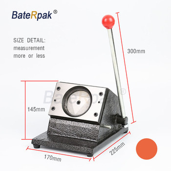 BateRpak Circle Round PVC card punch machine,paper,identity,Identification Card paper cutter,Dia.25/32/40/44/54/58mm,1set price