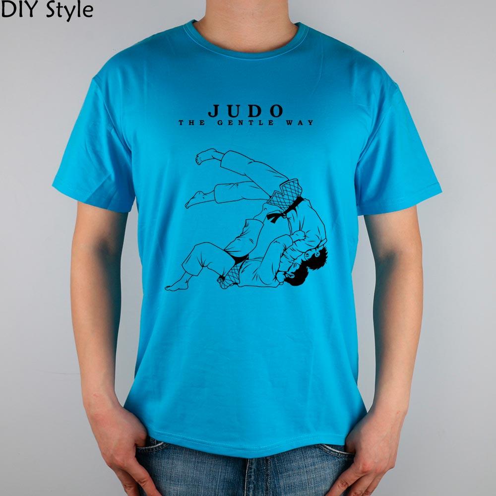 Ff The Gentle Way Judo Jiu Jitsu Mma T Shirt Top Lycra