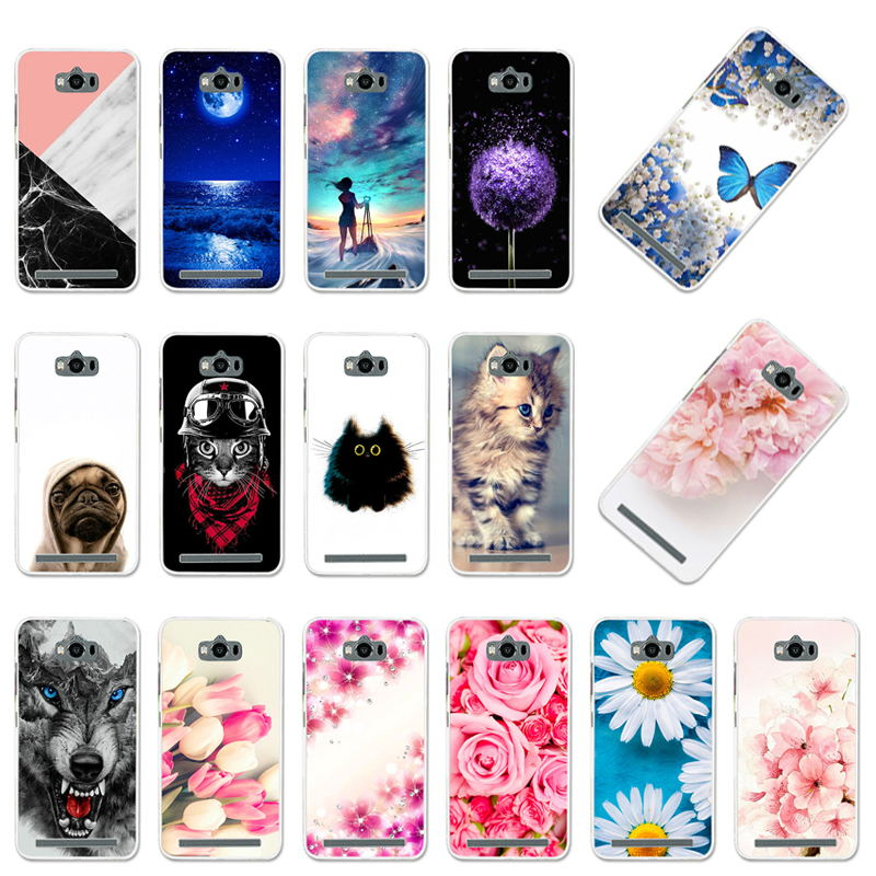 Case For <font><b>Asus</b></font> Zenfone Max ZC550KL Soft TPU Silicone Cover For <font><b>ASUS</b></font> ZC550KL <font><b>ASUS</b></font>_Z010DD <font><b>Z010D</b></font> Z010DA Phone Cases Bumper image