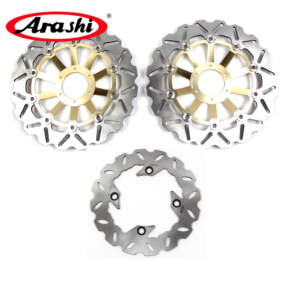 Arashi 1 Set For HONDA CBF HORNET 600 1998 1999 CNC Floating Front Brake Disk Rear