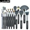 Jaf 20 pçs/set pincéis para maquiagem cabelo natural pincel de maquiagem profissional definida ferramentas de cosméticos make up brush kits j2001py-b