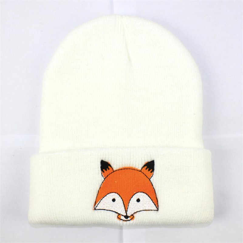 TELOTUNY Fashion Baby Children Cap Fox Warm Winter Hats Knitted Wool Hemming Spring Autumn Winter Cotton  flexible S3FEB14