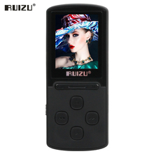 8GB MP3 Player with 1.8 Inch Screen Can Play 100 hours, Original RUIZU X11 mp3 music player with FM Radio,E-Book,Clock,Data