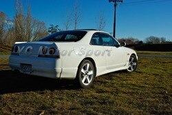 Akcesoria samochodowe z włókna węglowego OEM styl klapa bagażnika nadające się do 1995-1998 R33 GTR GTS tylne Bootlid klapa tylna