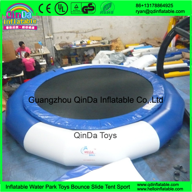 inflatable jumping water trampoline water bed81