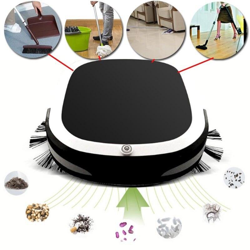 Robô Aspirador de pó automático Inteligente Recarregável Premium Auto Robô de Limpeza Auto Robô Arrebatadora Casa Tapete Casa - 2