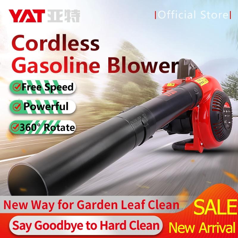YAT 26.5CC Petrol Blower Cordless Air Blower 650W Leaf Snow Dust Blower For Garden Clean Gasoline Blower 4-Stroke