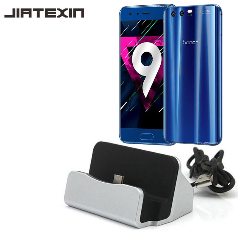 JIATEXIN Desktop Data Sync Type-C USB Cable Dock Charger Station For Huawei Honor 8 Pro/Honor V9/Honor 10/9 USB-C Charging Dock
