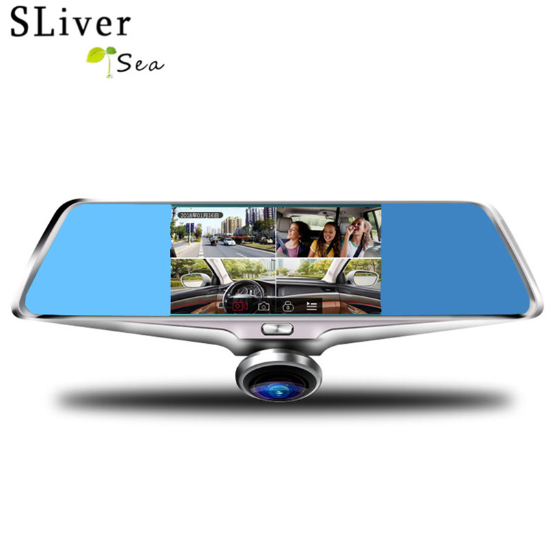 SLIVERYSEA Panoramic Car Dvr Rearview mirror 360 Degree Camera With Dashboard Camera Car DVR Camcorder #B1278 беспроводная hi fi акустика wharfedale diamond a2 system white