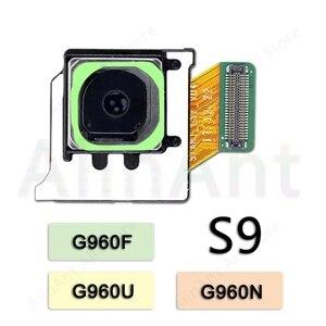 Image 5 - Pour Samsung Galaxy S8 S9 Plus G960F G965F G950f G955f Original principal arrière caméra Flex câble téléphone pièces de réparation